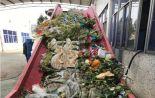 宿豫区正大食品随意处置弃物餐厨废,被罚2万元