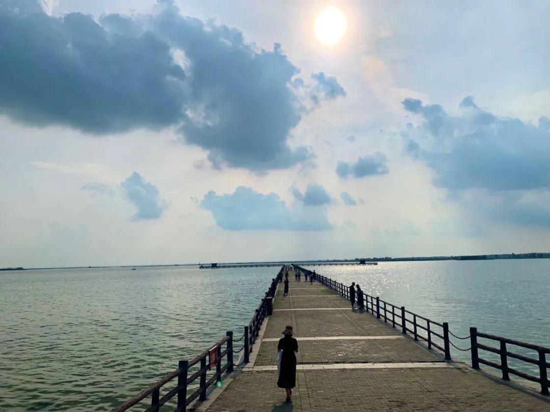 满目青翠皆为景,湖水清澈照游人,宿迁这样的成子湖怎能不心动