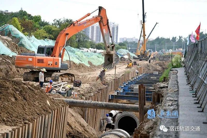 宿迁通湖大道提升改造工程加快推进,预计今年年底全线通车